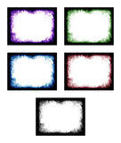 Colored abstract frame Royalty Free Stock Photos