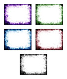 Colored abstract frame Stock Photo