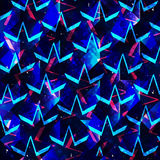 Colored abstract geometric polygons beautiful background. (vector eps 10 Stock Photo