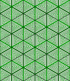 Colored abstract interweave geometric seamless pattern, EPS10. B Stock Photos