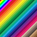 Colored abstract lines vector background Stock Image