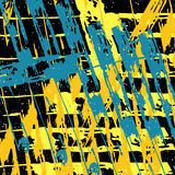 Colored abstract pattern graffiti Royalty Free Stock Images