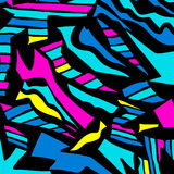 Colored abstract pattern graffiti. (vector eps 10 Stock Images