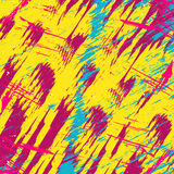 Colored abstract pattern graffiti. (vector eps 10 Stock Photography