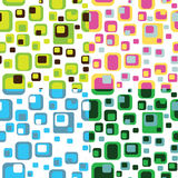 Colored abstract seamless pattern Stock Photography