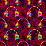 Colored abstract seamless pattern. Vector eps 10 Stock Photography