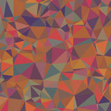 Colored Abstract Texture of Asymmetric Triangles. Background of Geometric Shapes Royalty Free Stock Photos