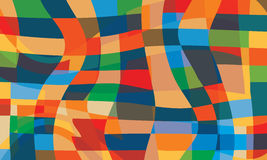 Colored abstract vector background Stock Images