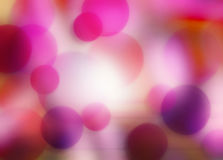 Colored abstraction. With round elements Stock Photos