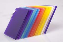 Colored Acrylic Object Photo Stock Image