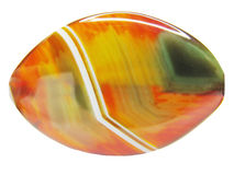 Colored agate crystal Stock Photography