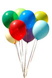 Colored air balloon stock image