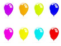 Colored air balloons Stock Image