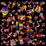 Colored animals Stock Photo