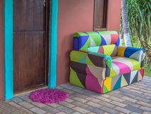 Colored armchair Stock Photo