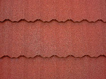 Colored asphalt roof structure 1 Royalty Free Stock Images
