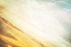 Colored background. With element of sky Stock Photography