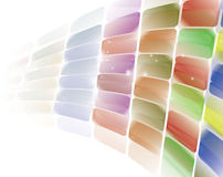 Colored background. Smooth colored background with shiny dots Royalty Free Stock Photo