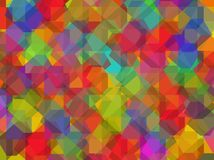 Color vector background with dices. Stock Photos