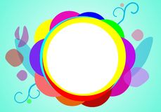 Colored background Stock Photography