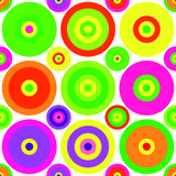 Colored background of circles royalty free illustration