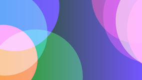 Colored background with circles. Raster. 5 Royalty Free Stock Images
