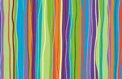 A colored background consisting of wavy forms. Vector Stock Photo