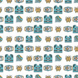 Colored background for diving Royalty Free Stock Images