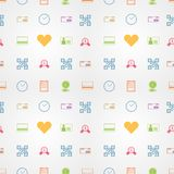Colored background for e-shopping Stock Photos