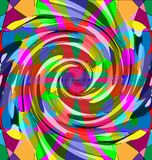 Abstract colored image of spiral Stock Images