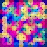 Colored background like stained glass . Vector image Stock Image