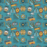 Colored background for sea leisure Royalty Free Stock Photo