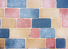 Colored background and texture from paving slabs Stock Photo