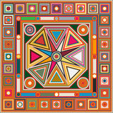 Colored background tile Royalty Free Stock Photos