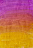 Colored background. Watercolor background from orange to purple Stock Photography