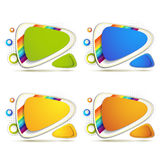Colored backgrounds Stock Image