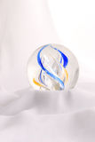 Colored ball on cloth Royalty Free Stock Images