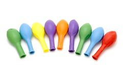 Colored ballons Stock Image