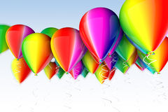 Colored balloon Royalty Free Stock Photography