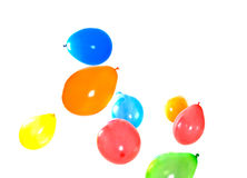 Colored balloons Royalty Free Stock Images