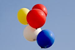 Colored balloons Royalty Free Stock Image