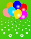 Colored balloons Stock Photos
