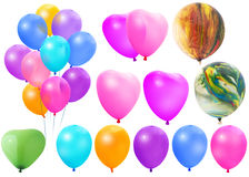 Colored balloons Stock Photography