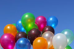 Colored balloons Royalty Free Stock Photography