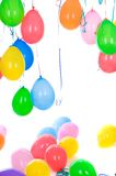 Colored balloons isolated Royalty Free Stock Image