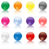 Colored balls Stock Photos
