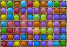 Colored Balls. Game with Bright Colored Balls Stock Photography