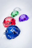 Colored balls Royalty Free Stock Images