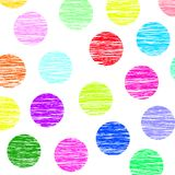 Colored balls. Color balls in red, blue, purple, pink, green, and yellow Royalty Free Stock Photos