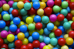 Colored balls. Amount of colored balls for children Stock Photo